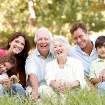 Adultos mayores en nuestra familia