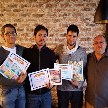 ¡Ganadores del premio de caricatura!